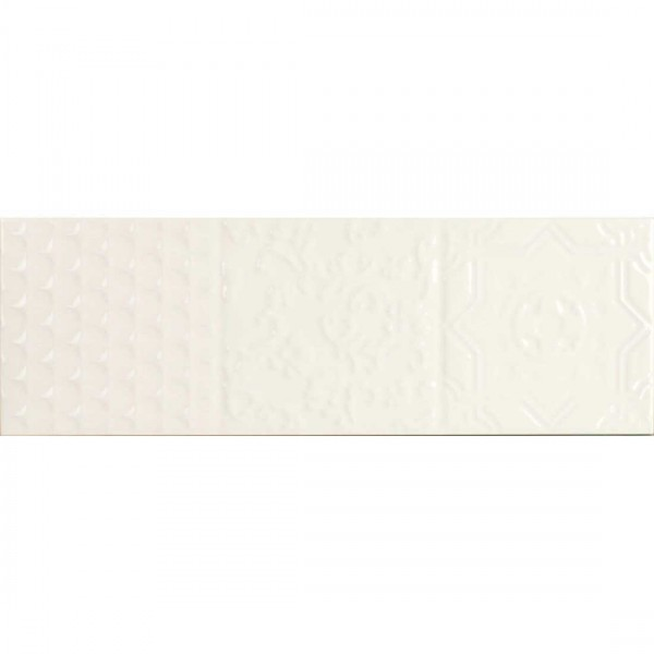 Maya Relieve 10x30cm Cream Gloss